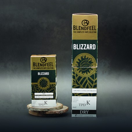 Blendfeel Blizzard - K-TPD 4 mL K-TPD 10 mL  concentrated flavor 4 mL