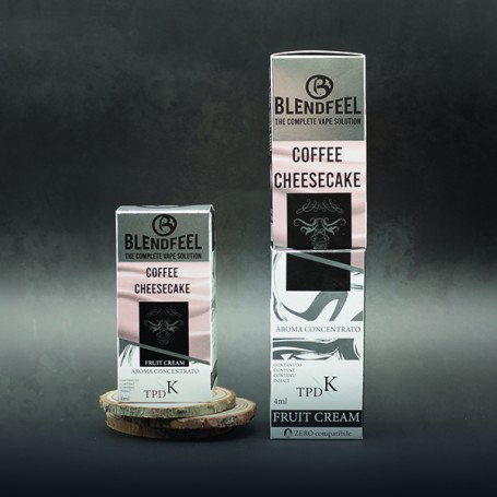 Blendfeel Coffee Cheesecake - K-TPD 4 mL K-TPD 10 mL  concentrated flavor 4 mL