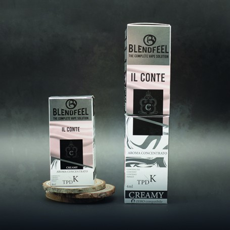 Blendfeel Il Conte - K-TPD 4 mL K-TPD 10 mL  concentrated flavor 4 mL
